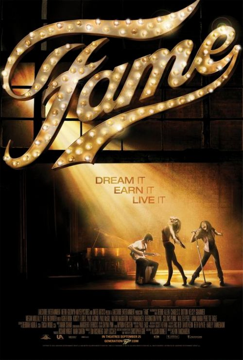 Fame 2009 movie poster